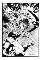 War Of The Supermen 4 Cover by JPMayer
