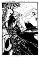 Superman 702 Page 22 Inks by JPMayer