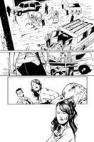 Blue Beetle 03 Page 06 Inks by JPMayer