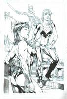 Wonder Woman and Wonder Girl by JPMayer