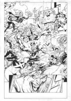 X-Men Gold #15 Page 04 Inks by JPMayer
