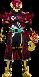 Kamen Rider Kaiz (Treasure Hunting) by levi810
