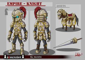 Dissension - Empire Knight Concept by davislim
