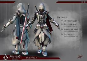 Assassin's Creed Redesign - Render 1 by davislim
