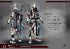 Assassin's Creed Redesign - Render 2 by davislim