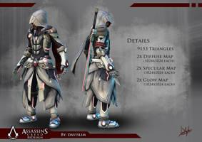 Assassin's Creed Redesign - Render 3 by davislim