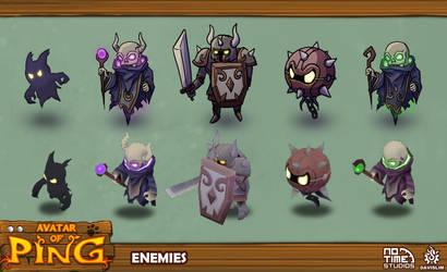 Enemies - Avatar Of Ping by davislim