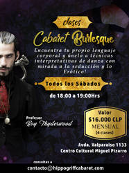 The Golden Hippogriff Cabaret CLASES REGULARES by pollomayorga