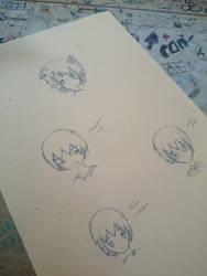 anime drawings ~ by Nata-Chann