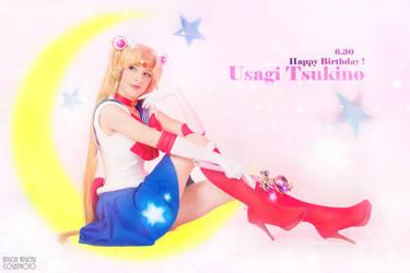 Sailor Moon - Birthday girl by AidaOtaku