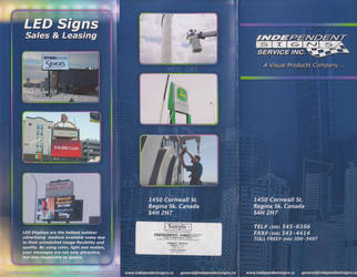 Independant signs Brochure by backflip540