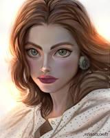 Danaya Lou Portrait by EvaS0L0
