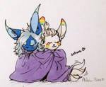 cuddle by Ashen-Blue