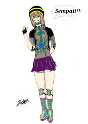 Calena chan , fan art by Bryanchicozombie