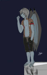 Zed el murcielago ( Guardian de las sombras) by Bryanchicozombie