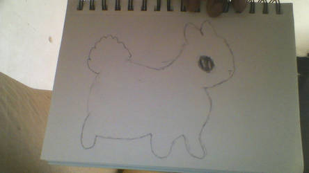 Bunny Sketch 9/3/2017 by Dreamer-Jewel