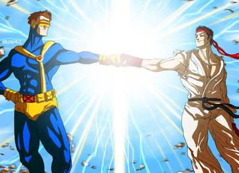 X-men vs Street Fighter by ValentrisRRock
