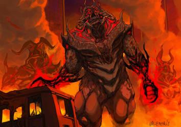 Hell Knight by ValentrisRRock