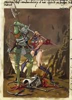 ~ Sir Doomguy, triumphant killeth ~ by ValentrisRRock