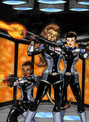 Elite Force by-robin thompson by Captain34