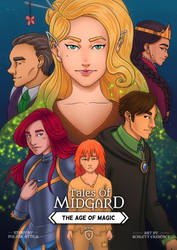 Tales of Midgard: The Age of Magic Book2 Coverpage by Tales-of-Midgard