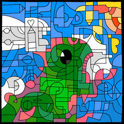 Chameleon God by Marye-the-Minstrel