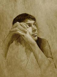 portrait by elanorien