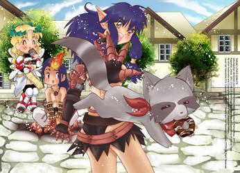 Ragnarok: Tanuki loves Donuts by Sakuragichan