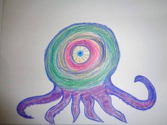 Octosquid by MojoCNYartist
