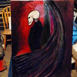 Angel of Death in Studio by MojoCNYartist