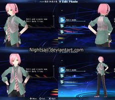 Another Project Diva PSP WIP. by nightsail