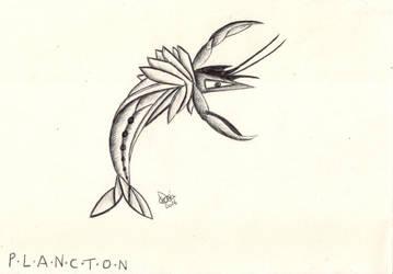 PLANCTON #2 - Telephila Emi by CelsiusDelta