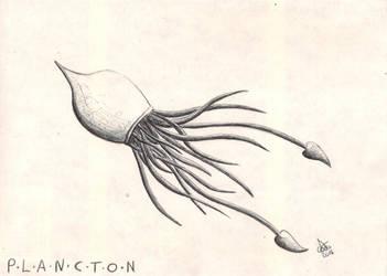 PLANCTON #6 - Mimbela Melhuggens by CelsiusDelta
