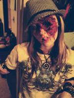 Zombie Make-up Two by RedEyedDemon