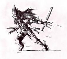 Warrior by kataclysm