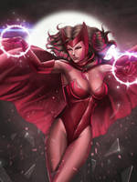 Scarlet Witch by Moonarc