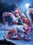 Winter Themed Koshka by Moonarc