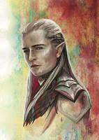 Prince of Mirkwood - Legolas Greenleaf by Grunnet
