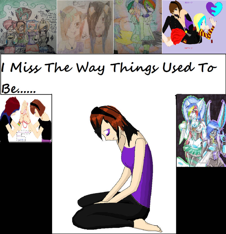 I Miss The Way Things Used To Be By Tsuki Karumi On Deviantart
