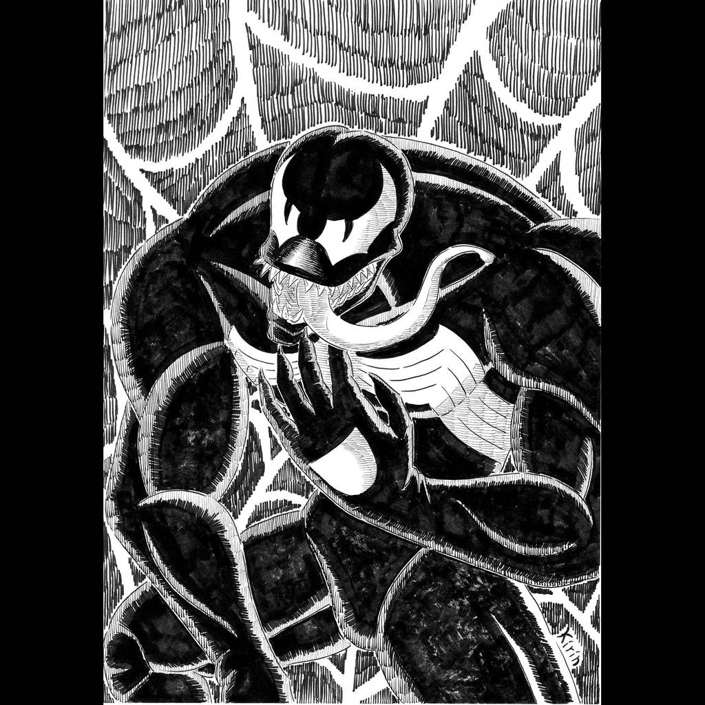 day 14 venom spider man 1994 tv series by uminokirin on deviantart