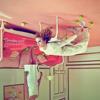 Green Apple, Pink Carpet by cetrobo
