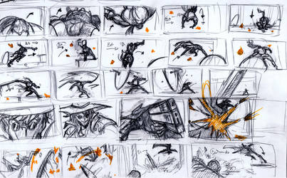 Rune and Braun Duel  Thumbnails by mikewinn