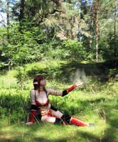 Blood Elf Priest by 1Kasumi