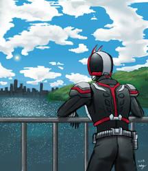 Kamen Rider Faiz by destroyah3