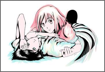 Yukino and Arima | Kare Kano by LunaSyney