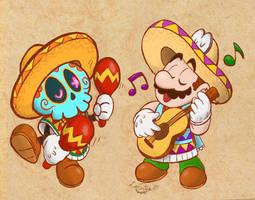 Mariachi Mario!! (Super Mario Odyssey) by LorenzoMendoza