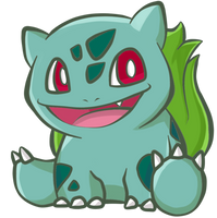 001 Bulbasaur by Chiblu