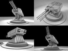 Gun Turret by DudQuitter