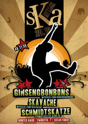 Ska Attack FLYER by segtec