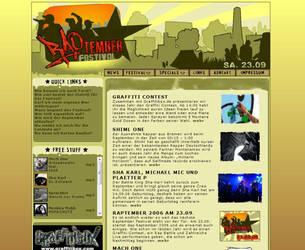 Raptember 2006 ... Homepage by segtec